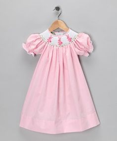 smocked bishop dress