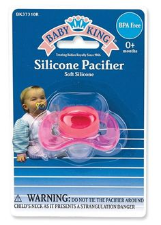 Baby King Silicone Pacifier Bpa-Free
