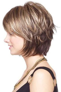 Short Layered Hairstyles From year to year, a short hairstyle is traditionally topped by the lists of the most popular female haircuts. In the 2019 se…, Hairstyle Ideas Source by jerilyn_rooney Bobs For Thin Hair, Short Hair With Layers, Short Hair Cuts, Short Hair Styles, Pixie Cuts, Short Pixie, Thick Hair, Short Layered Bob Haircuts, Short Hairstyles For Women