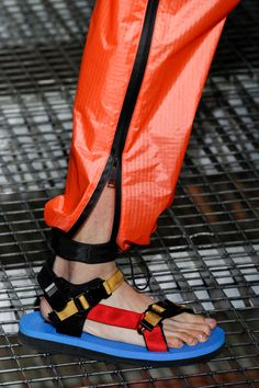 eighties colorway in futuristic clothing