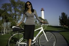 Vice Mayor Suja Lowenthal launches women on bikes.  Smart, earth conscious and drop dead gorgeous?!  Wow!