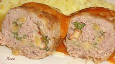 Комплимент от ШЕФА: Мясные рулеты с моцареллой, кедровым орехом и вяле...