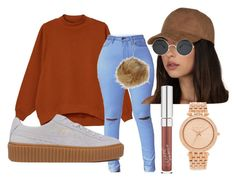 """""""Girll That Shidd Some Child's Play Bounce That Shidd Like Woah"""" by beautyqueen-927 ❤ liked on Polyvore featuring Monki, Puma, Topshop and Michael Kors"""
