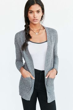 BDG London Cardigan |  $59 |  At Urban Outfitters |  Heather Grey