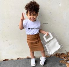 Which one is your favorite - or 9 I vote for number 4 . Little Kid Fashion, Cute Kids Fashion, Cute Outfits For Kids, Baby Girl Fashion, Toddler Fashion, Black Baby Girls, Cute Baby Girl, Cute Mixed Babies, Cute Babies