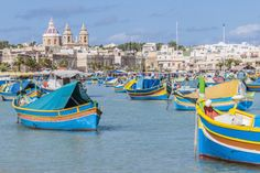 Travel to Magical Malta: Tours, Hotels, Attractions and Culture Malta Island, Cruise Port, Top Destinations, Fishing Boats, San Francisco Skyline, Attraction, Greece, Journey, Europe