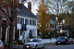 Woodstock, Vermont - so beautiful in the fall. New England Usa, Places To Travel, Places To Visit, Woodstock Vermont, Usa News, Where The Heart Is, Autumn, Fall, Small Towns