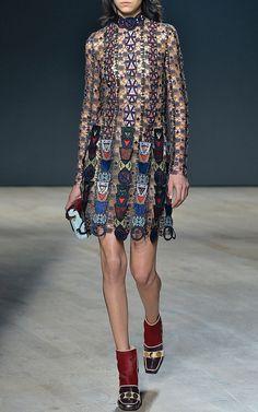 Pincop Lace Dress by Mary Katrantzou - Moda Operandi