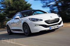 Peugeot RCZ R white front
