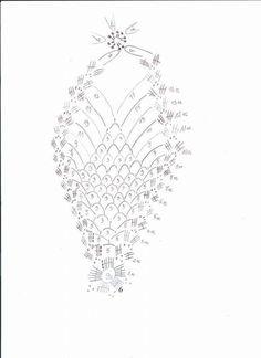 - Her Crochet Crochet Christmas Decorations, Crochet Ornaments, Crochet Snowflakes, Beaded Ornaments, Christmas Crafts, Christmas Ornaments, Crochet Ball, Easter Crochet, Thread Crochet