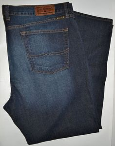 774f9a10 Lucky Brand Men's Blue Jeans Size 40 (Measures 42x31) #LuckyBrand