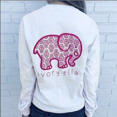 97a9c840fc3c2e Ivory Ella White Pocket Long Sleeve Shirt So so comfy! Has been worn and  washed