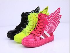 New Arrival Angel Wings Kids Boys Girls Casual Ventilation Sneakers Shoes  #EFKids #CasualShoes