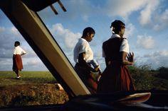 Alex Webb, Magnum photographer in Barbados.