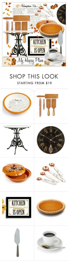 """Home Sweet Home * My Happy Place"" by calamity-jane-always ❤ liked on Polyvore featuring interior, interiors, interior design, home, home decor, interior decorating, Martha Stewart, Thirstystone, Sabre Flatware and homedecor"