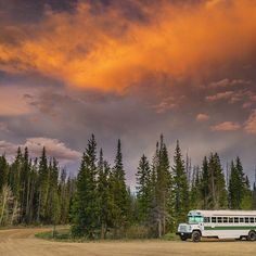 Do you dream of waking up in places like this? Make those dreams a reality by buying the Outside Found bus! Selling for $64k – link w/details + more photos in profile. 🚌 🏕⠀