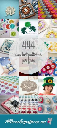 Allcrochetpatterns.net has the largest collection of crochet patterns, with both free and premium patterns.