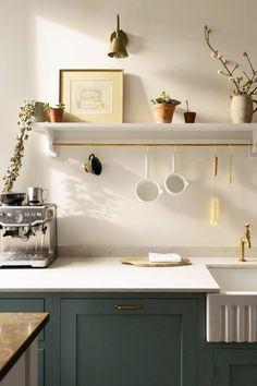 Interior Simple, Interior Design Kitchen, Interior Decorating, Modern Interior, Decorating Ideas, Decor Ideas, Simple Kitchen Design, Antique Interior, Wall Ideas