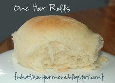 ¿Qué hay en el menú de esta semana ?: Rolls Una Hora