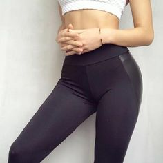 Shop & Buy New Black Heart Shape Booty Leggings PU Leather Patchwork Skinny Long Pants Women Push Up Workout Sporting Athleisure Leggings Online from Aalamey Faux Leather Leggings, Black Leggings, Women's Leggings, Black Pants, Pu Leather, Leather Booties, Black Booties, Leggings Fashion, Ankle Booties