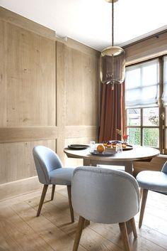 Panelled breakfast room - Lefèvre Interiors Belgium www.lefevre.be