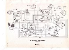 1980 vespa p200 witth a battery wiring diagram Modern