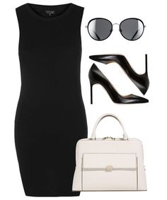 3 Outfits to Take You from the Office to After-Work Cocktails - A Little Black Dress - from InStyle.com