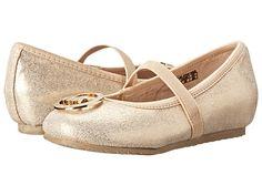 MICHAEL Michael Kors Kids Faye Ria Strap (Toddler/Little Kid) Silver - Zappos.com Free Shipping BOTH Ways