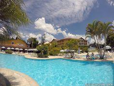 Piscina externa do Monreale Hotel Resort , em Poços de Caldas.