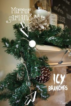 5 {Christmas Mantle} DIY projects