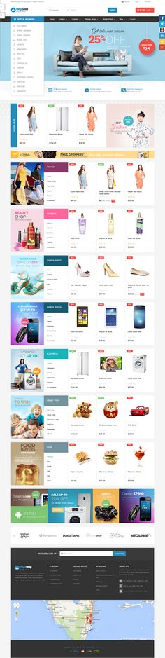 Pts #Megashop is the best multipurpose #responsive #Prestashop theme for Fashion, Digital, Food, Restaurant.