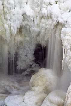 Frozen Waterfall nature love