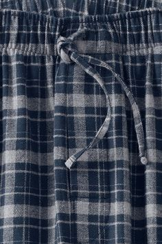 Men's Classic Fit Flannel Pajama Pants - Large + Tall