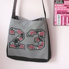 Custom Upcycled T Shirt Tote  Made with YOUR T Shirt by MaidenJane, $50.00