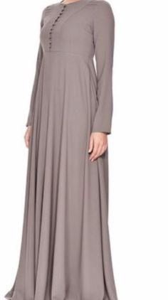 Abaya Kaftan Takchita Maxikleid Jelbeb Jelbab Tesettür Elbise Ferace Dubai Muslim Fashion, Kaftan, Dubai, Dresses With Sleeves, Beige, Long Sleeve, Red Gown Dress, Kleding, Women's