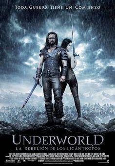 ver Inframundo 3 (Underworld Rebelion Licantropos) 2009 online descargar HD gratis español latino subtitulada