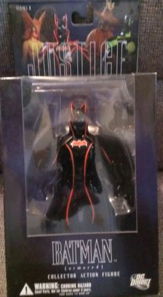 ARMORED BATMAN Justice Alex Ross Figure DC Direct