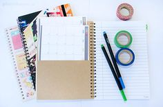 Brain Dump Journal And Free Printable Calendar