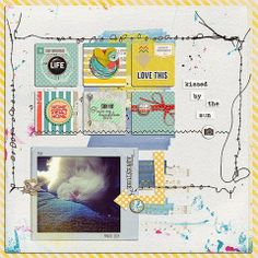 [kykyscrap]: Kissed by the sun Rain cat the_lilypad