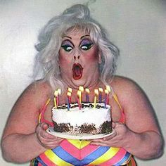 Divine ( drag queen) http://m.ranker.com/list/famous-drag-queens/famous-gay-and-lesbian