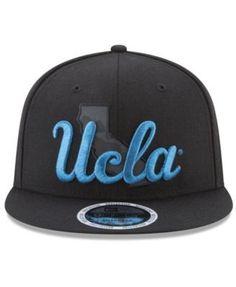 New Era Ucla Bruins State Flective 9FIFTY Snapback Cap - Black Adjustable