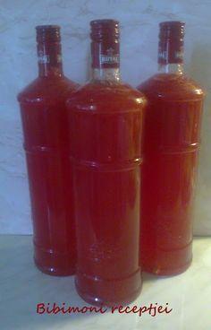 Bibimoni Receptjei: Görögdinnye-szörp