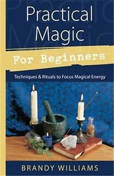 Practical Magic for Beginners by Brandy Williams!  pagan wicca witch