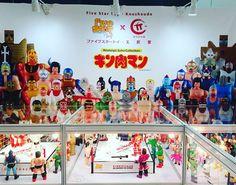 香港好難得會有筋肉人公仔展覽,所以點都要去睇下支持下 #工匠堂 #筋肉人 #toysoul2016 #亞洲玩具展2016 #佢唔係豬肉人 #キン肉マン