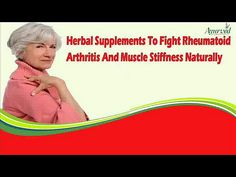 Dear friend, in this video we are going to discuss about the herbal supplements to fight rheumatoid arthritis. Natural treatment to muscle stiffness with Orthoxil capsules caused by rheumatoid arthritis can be the best and safe choice to get excellent results.  You can find more about herbal supplements to fight rheumatoid arthritis at http://www.ayurvedresearch.com/herbal-treatment-for-rheumatoid-arthritis.htm