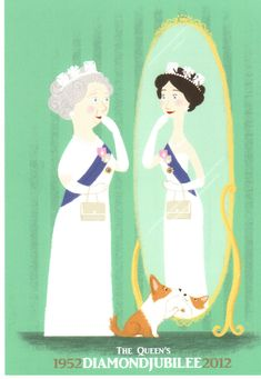 Queeny takes a moment out of the Jubilee celebrations to reflect on 60 years on the throne. Thanks so much to Natalie Zaman, winner of our Will & Kate Anniversary Pinterest contest, for sending this over… we love it!