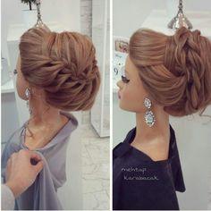 Fishtail Braid Hairstyle for Short Hair Pretty Hairstyles, Braided Hairstyles, Wedding Hairstyles, Wedding Hair And Makeup, Hair Makeup, Natural Hair Styles, Short Hair Styles, Hair Upstyles, Hair Setting