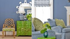 Love the color combo and the mirror. katierosenfeld-project-familysix-livingroom2