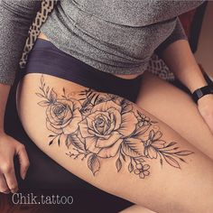 Best Tattoo Designs for Women 2019 Cute Tattoos For Women, Hip Tattoos Women, Dope Tattoos, Music Tattoos, Body Art Tattoos, Girl Tattoos, Henna Tattoo Designs, Best Tattoo Designs, Tattoo Designs For Women