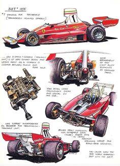 Ferrari 312T cutaway...
